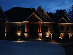 Salem landscape lighting