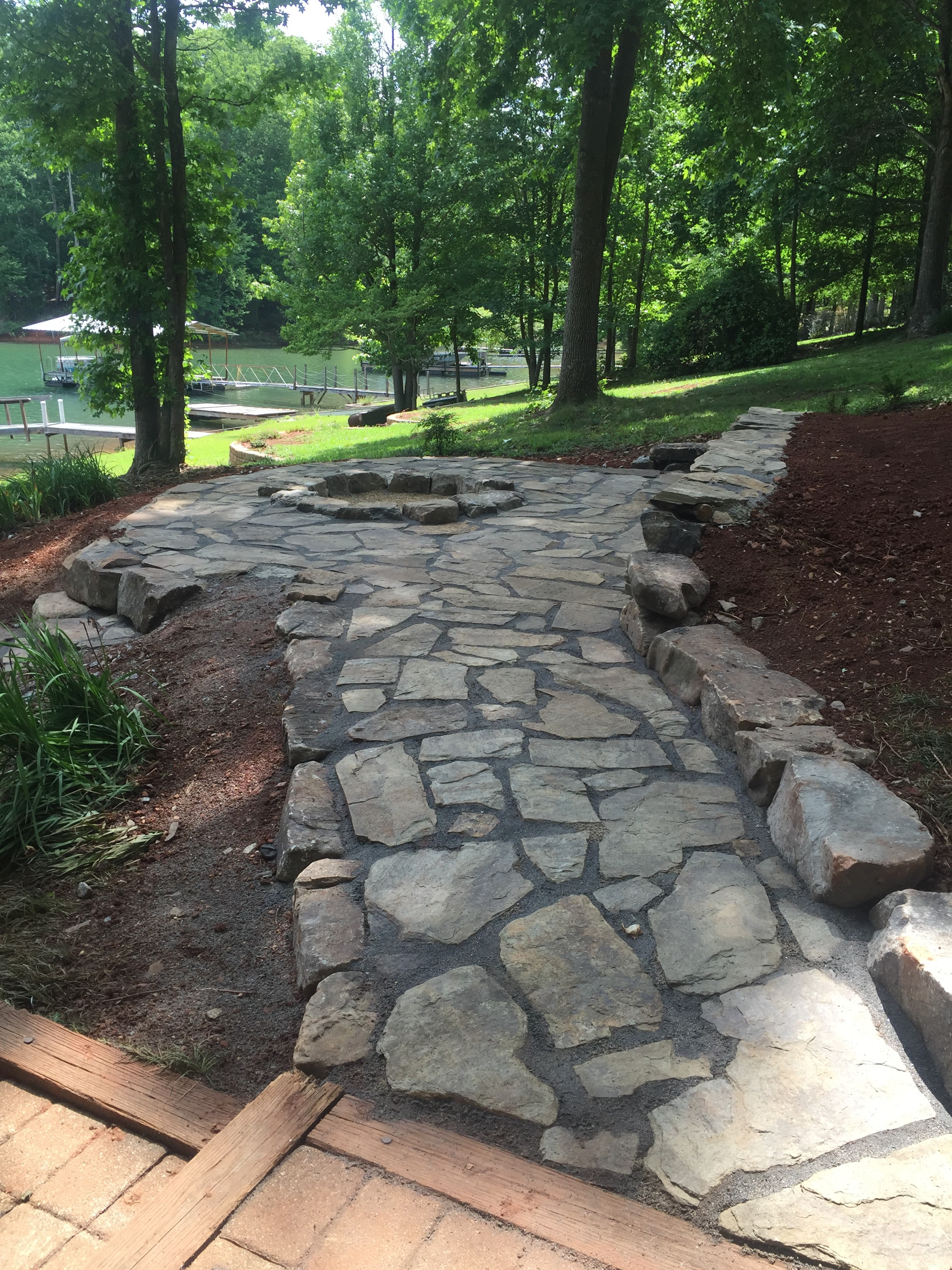 Flagstone Patio Flagstone Walkway ...
