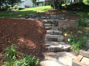seneca flagstone stairs