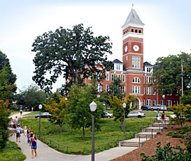 Landscaper Clemson University