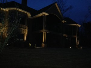 Salem landscape lighting