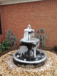 Easley Fountain Installation
